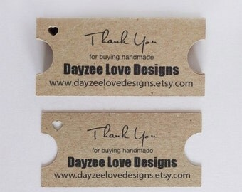 Movie Ticket Tags, recycled kraft card, wedding favour swing tags, Custom Single or Double-sided, save the date keepsakes