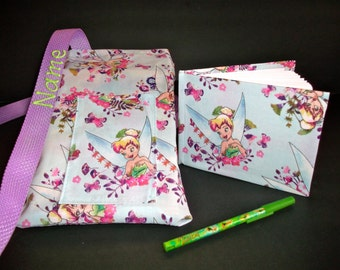 Disney Tinkerbell autograph book bag with book, bag and pen and autograph book PERSONALIZED for FREE Adjustable strap