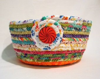 Tutti Fruitti Coiled Fabric Bowl