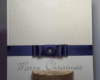Glitter Sparkle Christmas Card