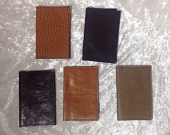 Leather Business/Credit Card Holder Lot SALE 5 was 75.00-now 50.00