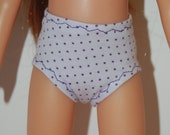 "Purple Dots Underpants - Doll Clothes handmade Corolle 13"" Les Cheries or 14"" Heart for Hearts Betsy McCall  tkct733"
