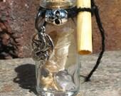 Snake Spirit Spell Bottle - A Red Raven's Cauldron Exclusive