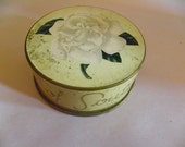 Vintage French Face Powder in Original Packaging -- Old/New Store Stock