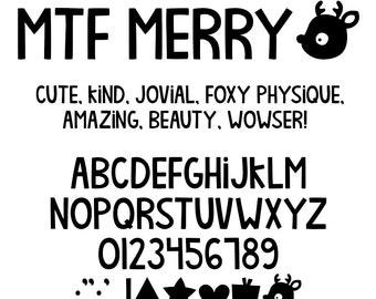 MTF Merry Font