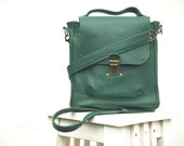 green leather bag, leather messenger, spinach green leather bag, crossbody, laptop bag business office bag, work bag christmas gift f