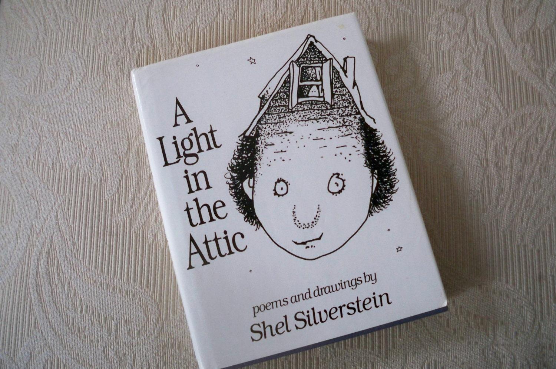 Shel Silverstein Books: Vintage Book A Light In The Attic Shel Silverstein