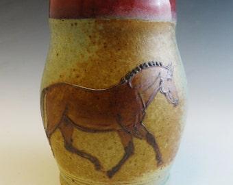 Bay Thoroughbred Warmblood Sport Horse Mug
