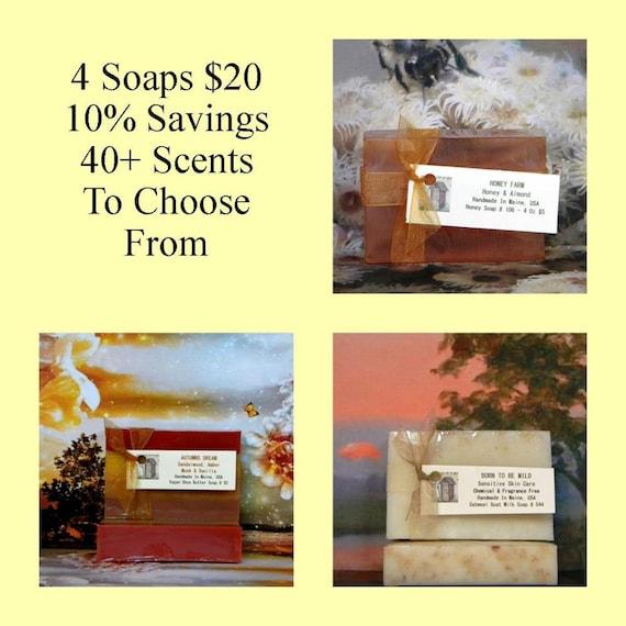 Homemade Soap Sale Handmade Soap Sale Handcrafted Soap Sale