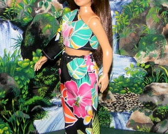 LMLY-201) Lammily doll clothes, 1 long skirt and top