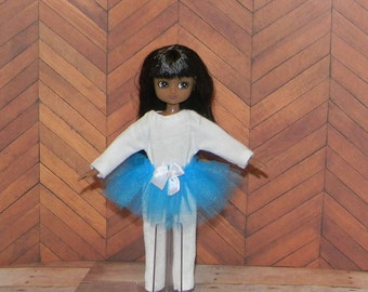 LTETUTU-02) Lottie doll clothes, 1 body suit and tutu