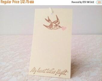SALE Wedding Wish Tree Tags Bird and Heart Set of 20