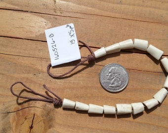 Deer Antler Beads - Focal Beads - Strand as Shown - 15 Pieces Lot No. 160526-B