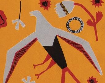 Caucasus Bird of Prey Card