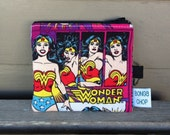 Wonder Woman Mini Wallet with ID Holder