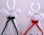 White Easter Angel crocheted