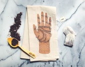 Palmistry Tea Towel