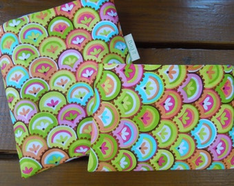 Reusable sandwich and/or snack bag - Reuse sandwich bag - Reusable snack bag -  Girls rock and many options for matching snack bags