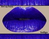 Blue Purple HD Lip Paint- Indigo