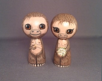 Bigfoot Wedding Toppers Sasquatch