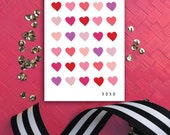 Valentine's Day Card | Valentines for Kids | Hearts Card | Love Note | Valentine Day Card | Valentines Card Set | Valentine card from friend