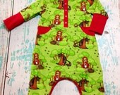 Size 12-18 month Little red oz romper