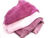 Mawatas Silk Hankies Plum Pink Trio - 24 grams