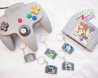 Nintendo 64 Cartridge - Keychain or Necklace!