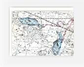 Star Sign Astrological Birthday Greeting Card - Pisces: Feb 19 - Mar 20