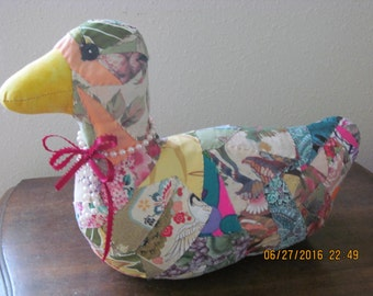 Hawaiian Crazy Quilt VICTORIAN DUCK by Marianne of Maui