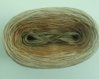 HEMP II  Color Changing Cotton yarn  480 yards/100 gr  Fingering Weight