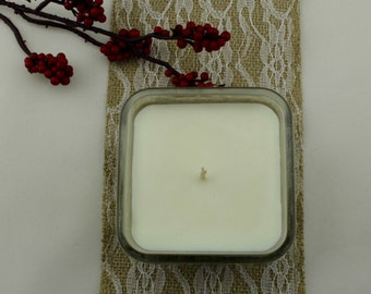 Handcrafted Soy Candle   *  Holiday Scented Candle * Artisan Candle * Hostess Gift * Holiday Gift * Eco-friendly Candle
