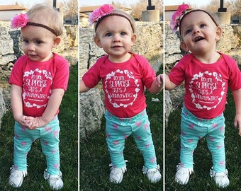 BOHEMIAN LINE - Do You Suppose She's A Wildflower Bodysuit or Toddler Tee - Available in various colors and Sizes