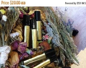 Orange Blossom Aromatherapy Botanical Perfume Oil,  All Natural, 10 ML