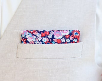 Pocket Square, Pocket Squares, Handkerchief, Mens Pocket Square, Boys Pocket Square, Wedding Pocket Squares - Gardens In Americana