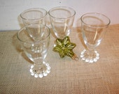 Anchor Hocking Boopie Cordial Glasses
