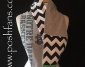Notre Dame Infinity Scarf