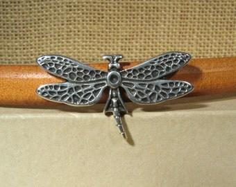 Regaliz Dragonfly Spacers - Antique Silver - SP95 - Choose Your Quantity