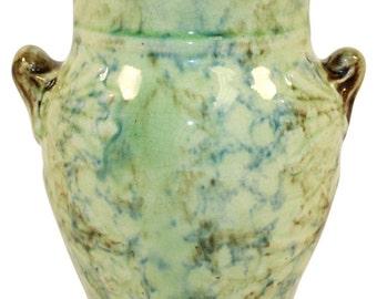 Roseville Pottery Cornelian Cream Vase or Brush Holder