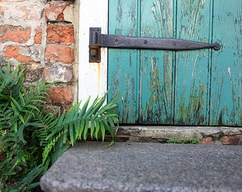 """New Orleans French Quarter Art. """"New Orleans Stoop"""" Photograph. Affordable Wall Art, Home Decor, Photography."""