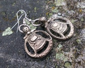Viking earrings Freyja Goddess of love fertility war death Norway Sweden Denmark Iceland