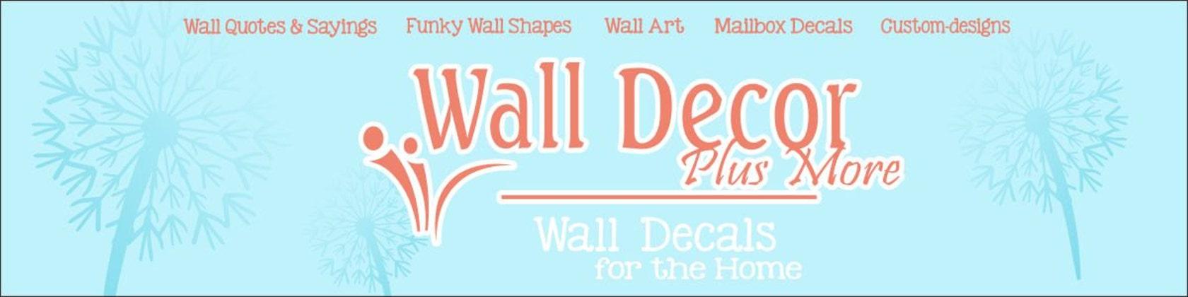Wall Decor Plus More : Wall decor plus more by walldecorplusmore on etsy