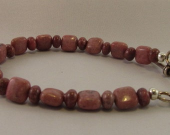 Rosy Stone Bracelet