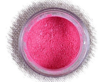 Watermelon Luster Dust, Edible Luster Dust, Hot Pink Luster Dust, Edible Luster Powder, FDA Approved Luster Dust, Pink Decorating Luster