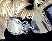 Spoon Bracelet Cuff bracelet Antique bracelet Silverware Bracelet