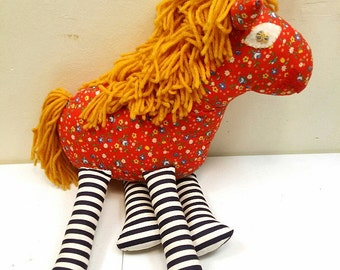 1960s Stuffed Horse