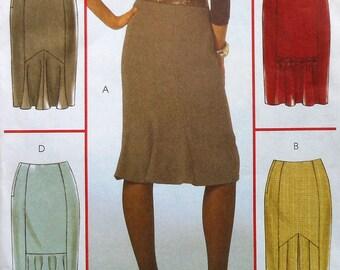 Skirt Sewing Pattern UNCUT McCalls M5523 Sizes 12-18