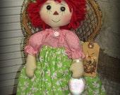 Easter Raggedy Ann Annie