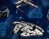 Awesome Star Wars  Fabric--HARD Find-- 40-70% off Patterns n Books SALE