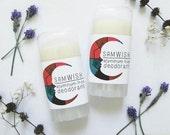 Lavender & Melaleuca Deodorant // Aluminum-Free // Organic // Small + Large